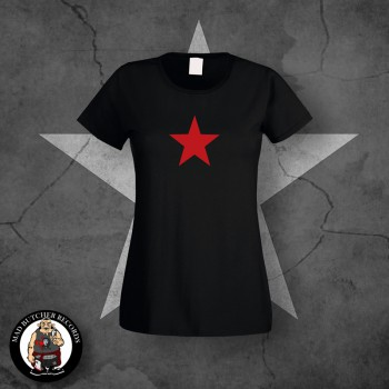 GIRLIE RED STAR SCHWARZ / L
