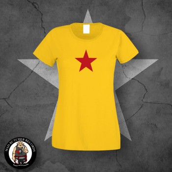 GIRLIE RED STAR S / GELB