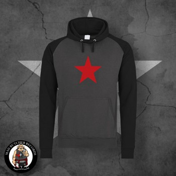 RED STAR CONTRAST HOOD