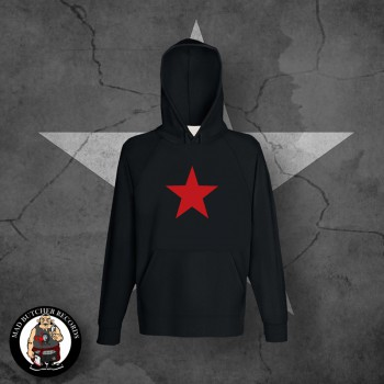 RED STAR HOOD Black / M