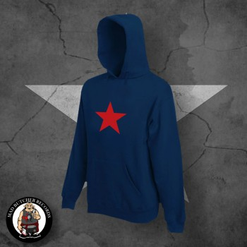 RED STAR HOOD M / navy