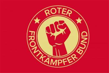 ROTER FRONTKÄMPFERBUND FLAG