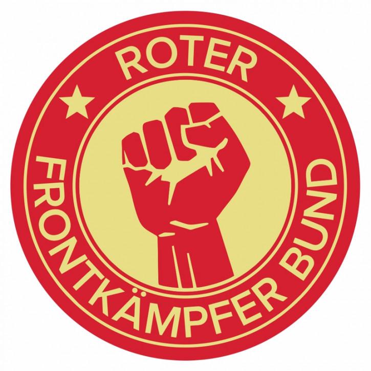 ROTER FRONTKÄMPFER BUND PVC STICKER