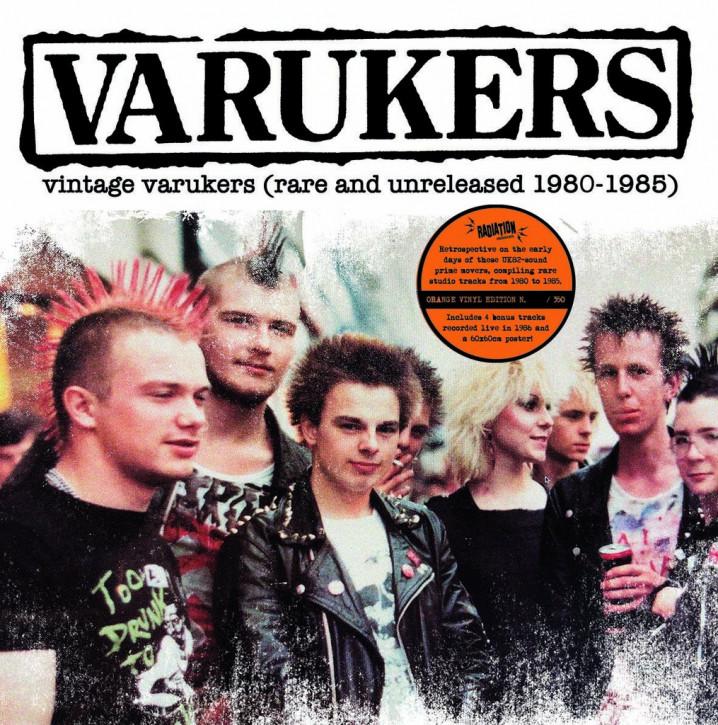 Varukers - Vintage Varukers (Rare and Unreleased 1980-1985) LP