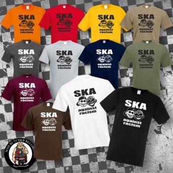 SKA AGAINST RACISM T-SHIRT