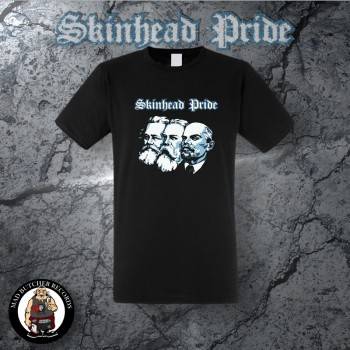SKINHEAD PRIDE (MARX,ENGELS,LENIN) T-SHIRT