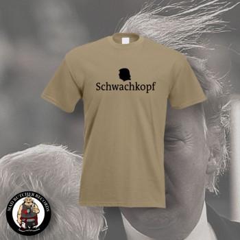 SCHWACHKOPF (TRUMP) T-SHIRT S / BEIGE