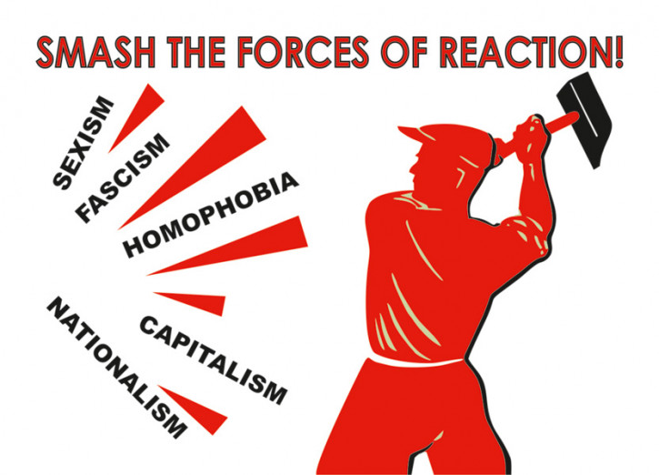 SMASH THE FORCES OF REACTION (10 Stück)