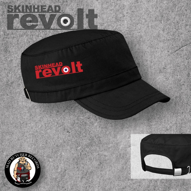 SKINHEAD REVOLT ARMYCAP Black