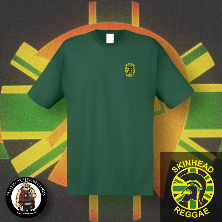 SKINHEAD REGGAE SMALL T-SHIRT S / BOTTLEGREEN