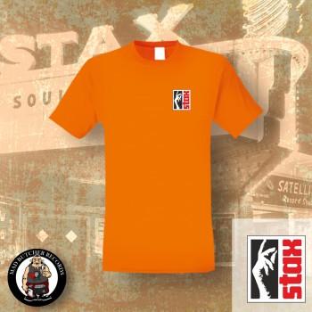 STAX LOGO SMALL T-SHIRT L / ORANGE