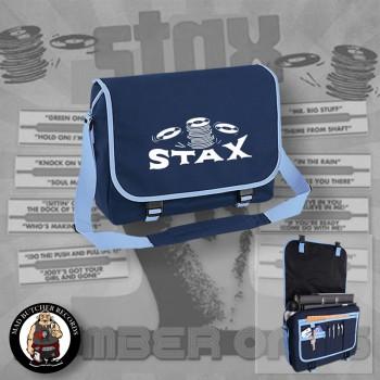 STAX MESSENGER BAG blue