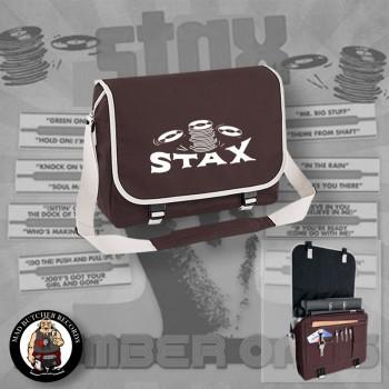 STAX MESSENGER BAG brown
