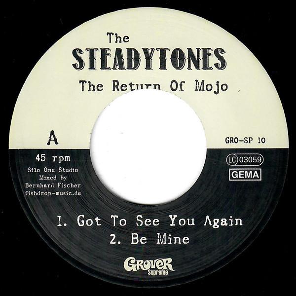 "The Steadytones – The Return Of Mojo 7"" EP"