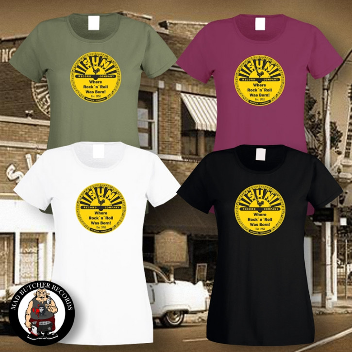 SUN RECORDS LOGO GIRLIE