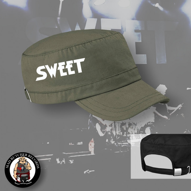 THE SWEET SCHRIFT ARMYCAP OLIVE