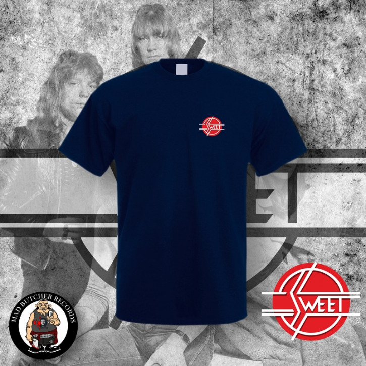 THE SWEET LOGO SMALL T-SHIRT S / NAVY