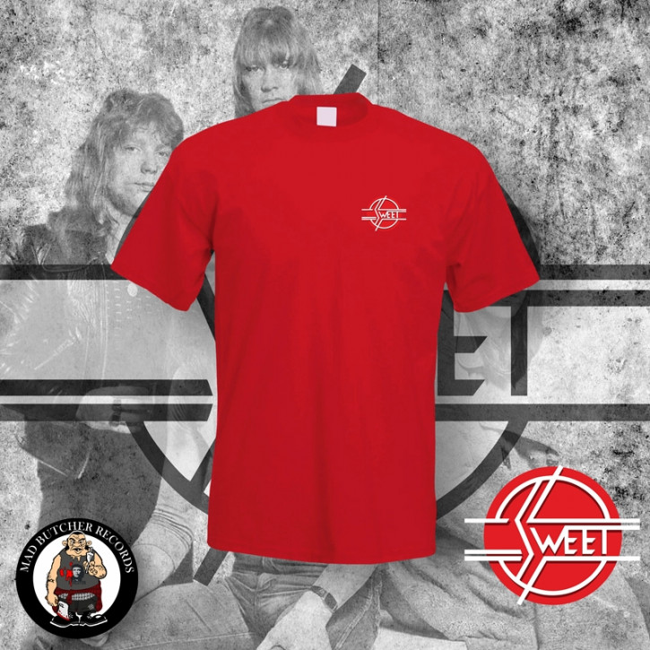 THE SWEET LOGO SMALL T-SHIRT M / ROT