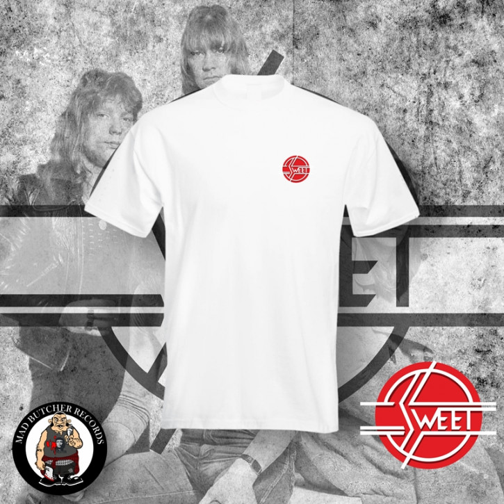 THE SWEET LOGO SMALL T-SHIRT L / WEISS