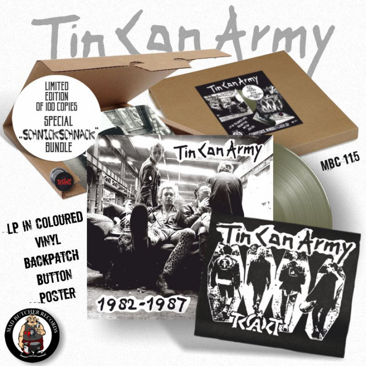 TIN CAN ARMY 1982-1987 SCHNICK SCHNACK BOX (lim.edition)