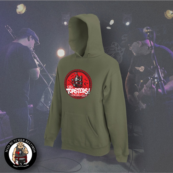 THE TOASTERS 4 DECADES IN SKA RED KAPU XL / OLIVE