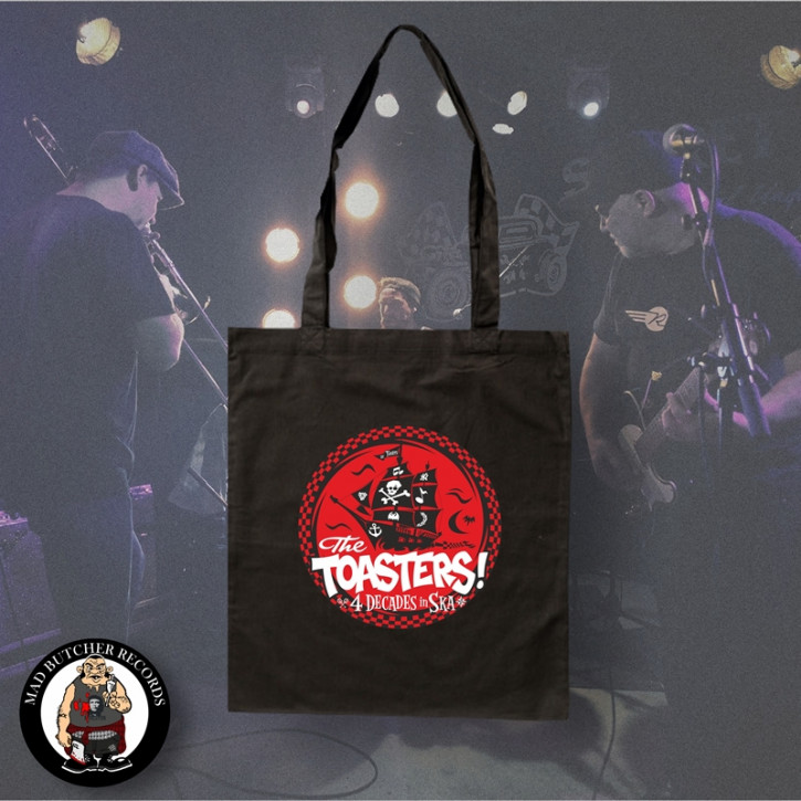 THE TOASTERS 4 DECADES IN SKA TASCHE ROT