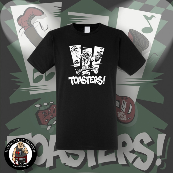 THE TOASTERS JUMP T-SHIRT SCHWARZ / L
