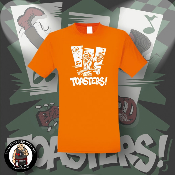 THE TOASTERS JUMP T-SHIRT S / ORANGE
