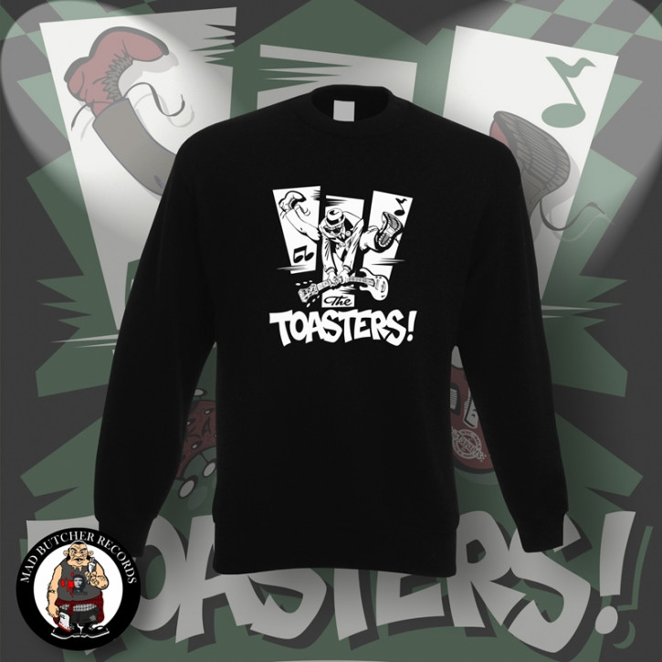 THE TOASTERS JUMP SWEATSHIRT