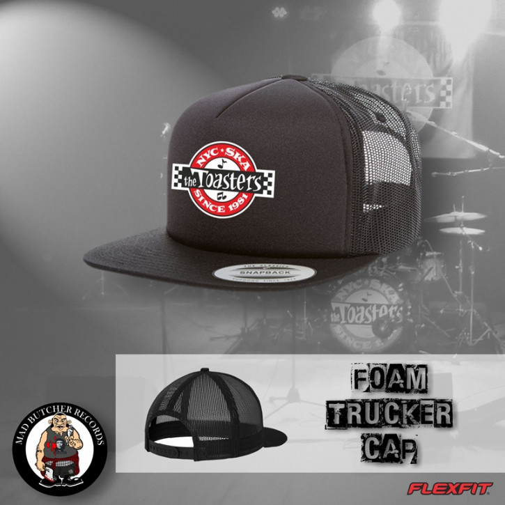 THE TOASTERS UNDERGROUND MESH CAP Black