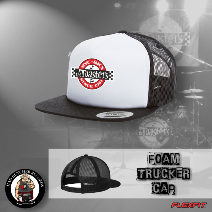 THE TOASTERS UNDERGROUND MESH CAP White