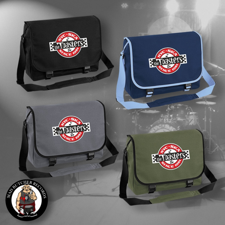 THE TOASTERS UNDERGROUND MESSENGER BAG