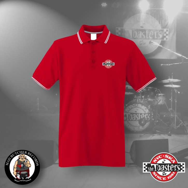 THE TOASTERS UNDERGROUND POLO M / ROT