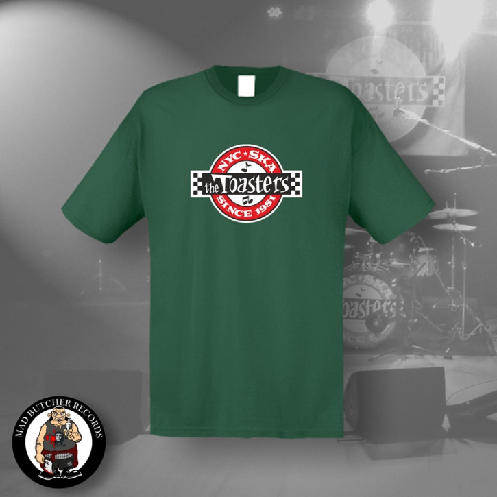 THE TOASTERS UNDERGROUND T-SHIRT M / BOTTLEGREEN