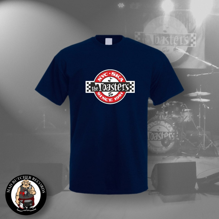 THE TOASTERS UNDERGROUND T-SHIRT M / NAVY
