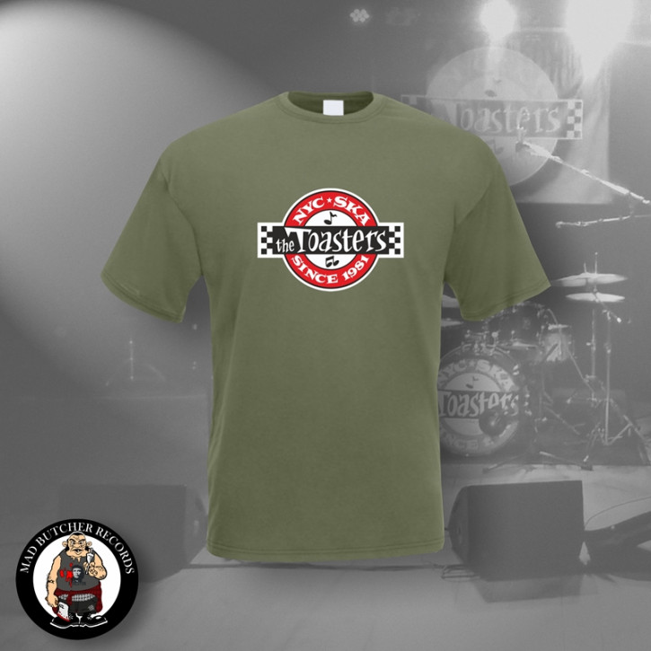 THE TOASTERS UNDERGROUND T-SHIRT M / OLIVE