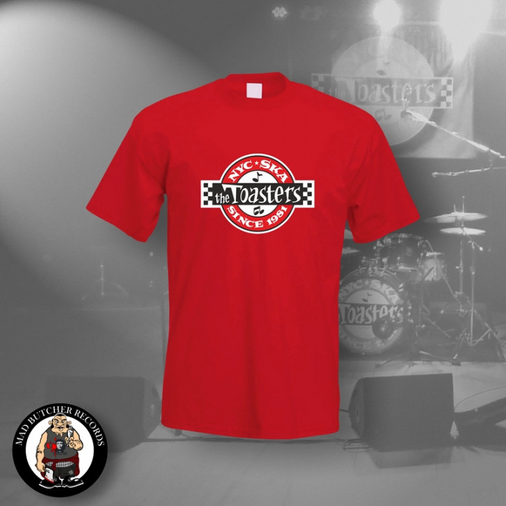 THE TOASTERS UNDERGROUND T-SHIRT M / ROT