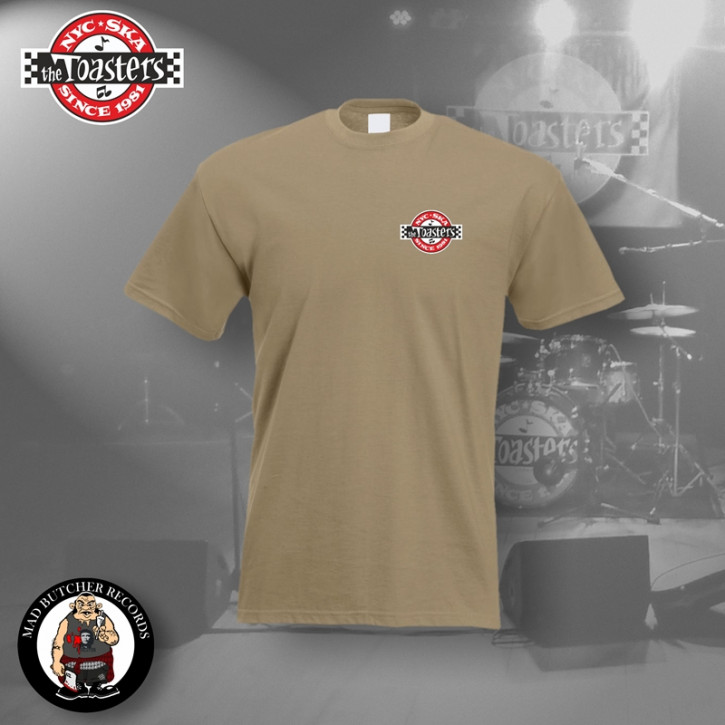 THE TOASTERS UNDERGROUND SMALL T-SHIRT S / BEIGE
