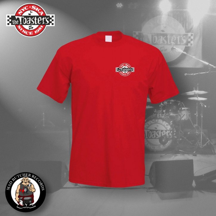 THE TOASTERS UNDERGROUND SMALL T-SHIRT S / ROT