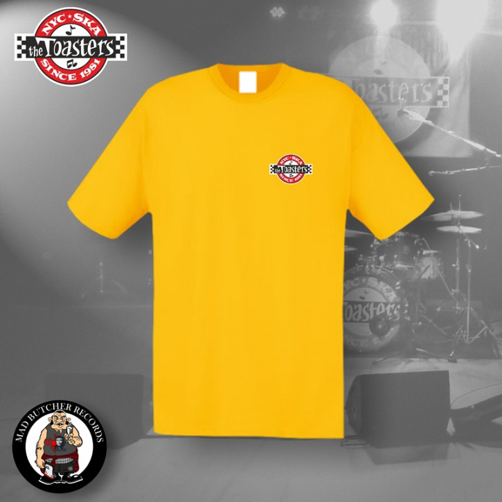THE TOASTERS UNDERGROUND SMALL T-SHIRT L / GELB