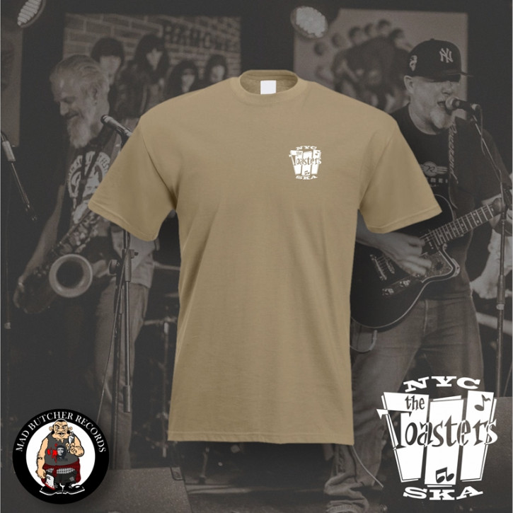 THE TOASTERS NYC SKA SMALL T-SHIRT XL / BEIGE