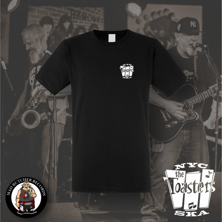 THE TOASTERS NYC SKA SMALL T-SHIRT SCHWARZ / M