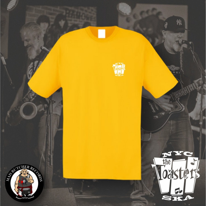 THE TOASTERS NYC SKA SMALL T-SHIRT XL / GELB