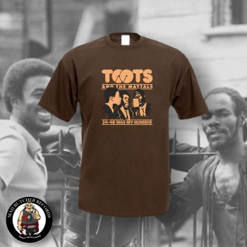 TOOTS & THE MAYTALS 54-46 WAS MY NUMBER T-SHIRT S / BRAUN