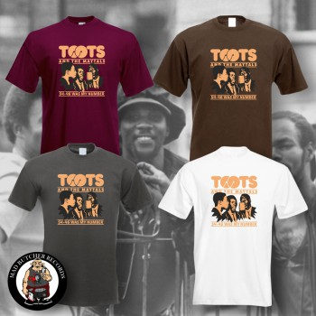 TOOTS & THE MAYTALS 54-46 WAS MY NUMBER T-SHIRT