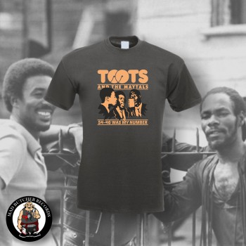 TOOTS & THE MAYTALS 54-46 WAS MY NUMBER T-SHIRT S / DUNKELGRAU