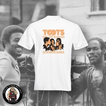 TOOTS & THE MAYTALS 54-46 WAS MY NUMBER T-SHIRT WEISS / 4XL