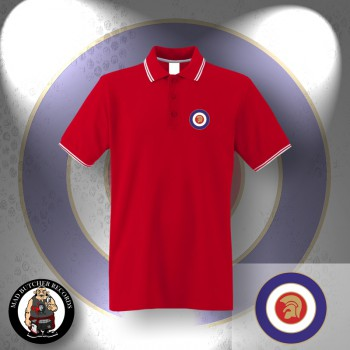TROJAN TARGET POLO S / red