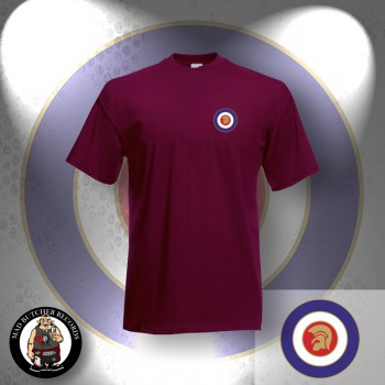TROJAN TARGET T-SHIRT XL / BORDEAUX RED