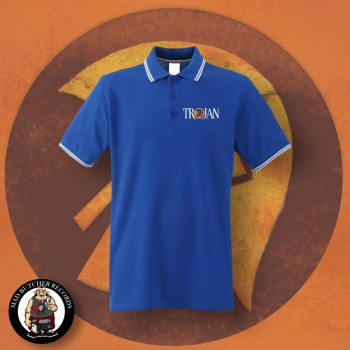 TROJAN LOGO POLO L / ROYALBLUE